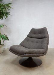 mid century modern swivel chair Artifort Geoffrey Harcourt sixties design