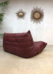 leather sofa Togo Ligne Roset France design