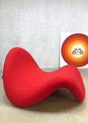 Vintage lounge chair Tongue Artifort Pierre Paulin tong stoel