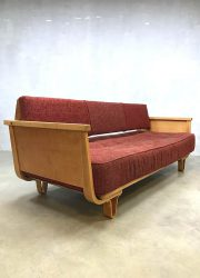 Vintage sofa Dutch design Cees Braakman MB01 Pastoe bank