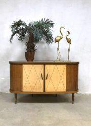 vintage retro drankenkast cocktail cabinet fifties jaren 50