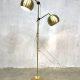 Vintage brass floorlamp Anvia messing vloerlamp