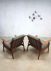 dutch vintage design lounge chair fauteuil De Ster Gelderland armchairs