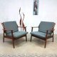 Vintage design arm chairs easy chairs lounge fauteuils de Ster Gelderland