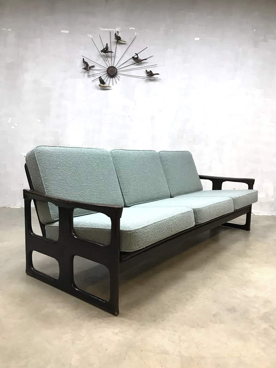 vintage lounge set danish design sofa chairs deense fauteuils. Black Bedroom Furniture Sets. Home Design Ideas