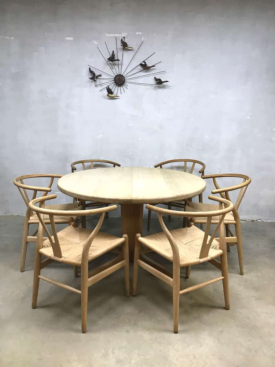 Vintage dining table skovmand andersen danish design for Design eetkamertafel