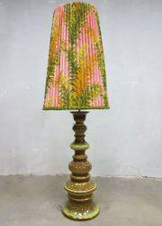 vintage botanical floor lamp vloerlamp eclectic interior retro fifties sixties