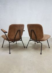 lounge fauteuils Kembo Gispen armchairs Industrial