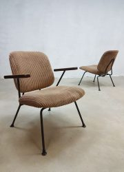 midcentury modern Dutch design armchair lounge chair Industrial Kembo Gispen