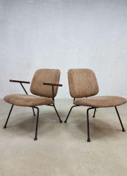 vintage retro stoelen fauteuils industrieel