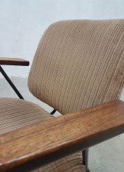 vintage rib stoel rib fauteuil Kembo Gispen