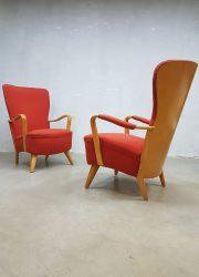 vintage design lounge chair rare piece Cees Braakman thirties antique
