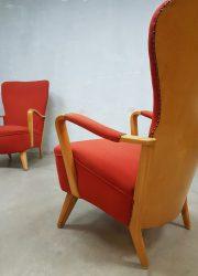 mid century modern arm chair Dutch design Pastoe Cees Braakman