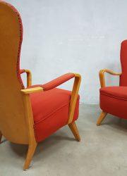 mid century design Pastoe fauteuils Cees Braakman jaren 30 40