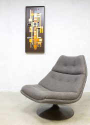 vintage design swivel chair draaifauteuil Artifort model F511