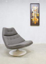 vintage draaifauteuil retro stoel fauteuil Artifort G. Harcourt