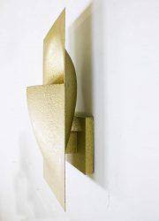 vintage Brutalist wandlamp Raak Dutch design sconces wall lamp