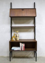 Webe Louis van Teeffelen wandkast Deense stijl wandmeubel wall unit cabinet