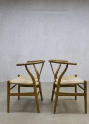 midcentury modern dinner chair eetkamerstoel Hans Wegner CH24 Carl Hansen & son