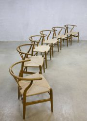 Vintage Wishbone chair stoel Hans Wegner Carl Hansen & Son CH24