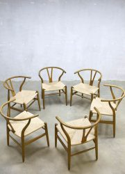 Vintage Danish design Wishbone chair Hans Wegner CH24