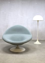 midcentury modern swivel chair Pierre Paulin draai fauteuil Artifort