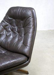 midcentury modern swivel chair MS68 Danish design Madsen & Schubel