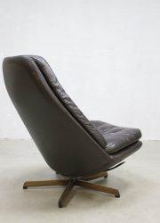 vintage design lounge chair MS68 Leather Madsen Schubel Bovenkamp
