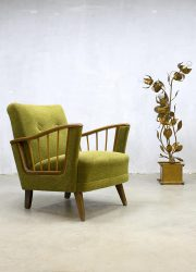 Midcentury modern armchair art deco lounge fauteuil Danish design