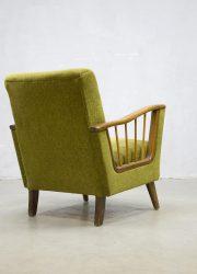 Vintage design lounge chair armchair clubfauteuil art deco