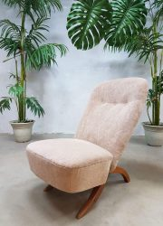 vintage Dutch design lounge chair Artifort fauteuil stoel Theo Ruth Congo