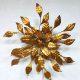vintage design Hans Kogl wall sconce brass gold Hollywood regency design wand lamp