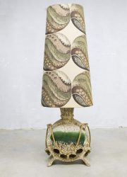 Vintage Psychedelische vloerlamp retro ceramic floor lamp West Germany