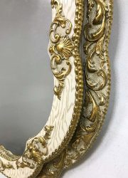 midcentury design mirror baroque antique mirror spiegel