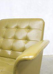 Fifties vintage love seat lounge chair fauteuil jaren 50
