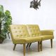 Vintage sofa lounge chairs 'love seat' Mad men style