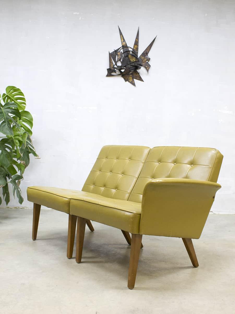 Pleasant Mad Men Fifties Style Love Seat Lounge Chair Sofa Bestwelhip Alphanode Cool Chair Designs And Ideas Alphanodeonline