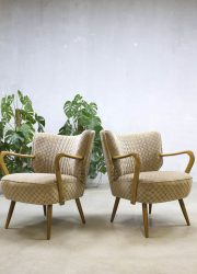 vintage armchair club fauteuil fifties retro cocktail stoel