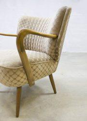 midcentury design arm chair cocktail stoelen jaren 50