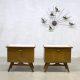 Vintage nachtkastjes Danish design nightstands cabinet nightstand