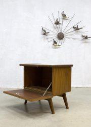 vintage nachtkastje jaren 50 60 midcentury modern Deens design retro nightstand