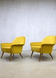 vintage stoel fauteuil club fauteuil retro armchair lounge chair Italian