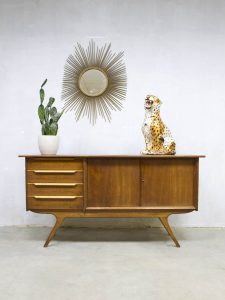 Vintage Danish design cabinet sideboard Deense wandkast dressoir