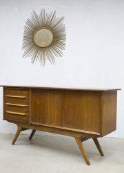 Deense vintage wandkast dressoir sideboard midcentury Danish design