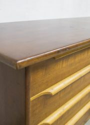 vintage deense ladenkast kast dressoir cabinet Danish design teak