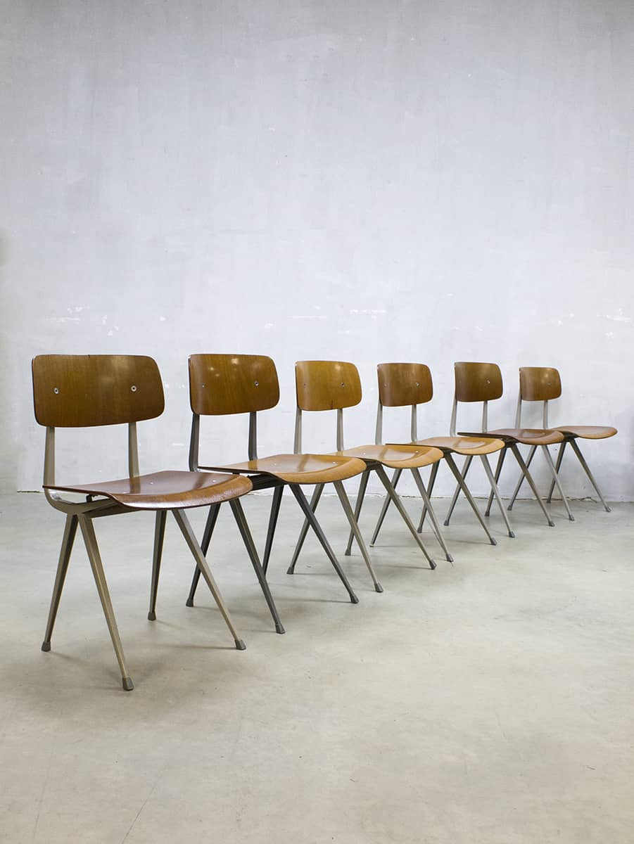 Friso Kramer Bureaustoel.Vintage Friso Kramer Result Chair Stoel Dutch Design Ahrend De Cirkel