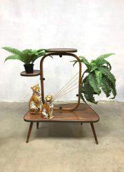 Vintage fifties retro plantstand plantentafel jaren 50