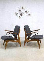 Dutch design armchair Louis van Teeffelen Webe lounge fauteuils