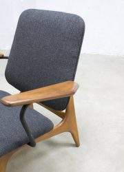 Vintage design stoelen fauteuils armchairs lounge chair Dutch design Louis van Teeffelen Webe