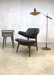 Vintage lounge stoel fauteuil Webe armchair Louis van Teeffelen